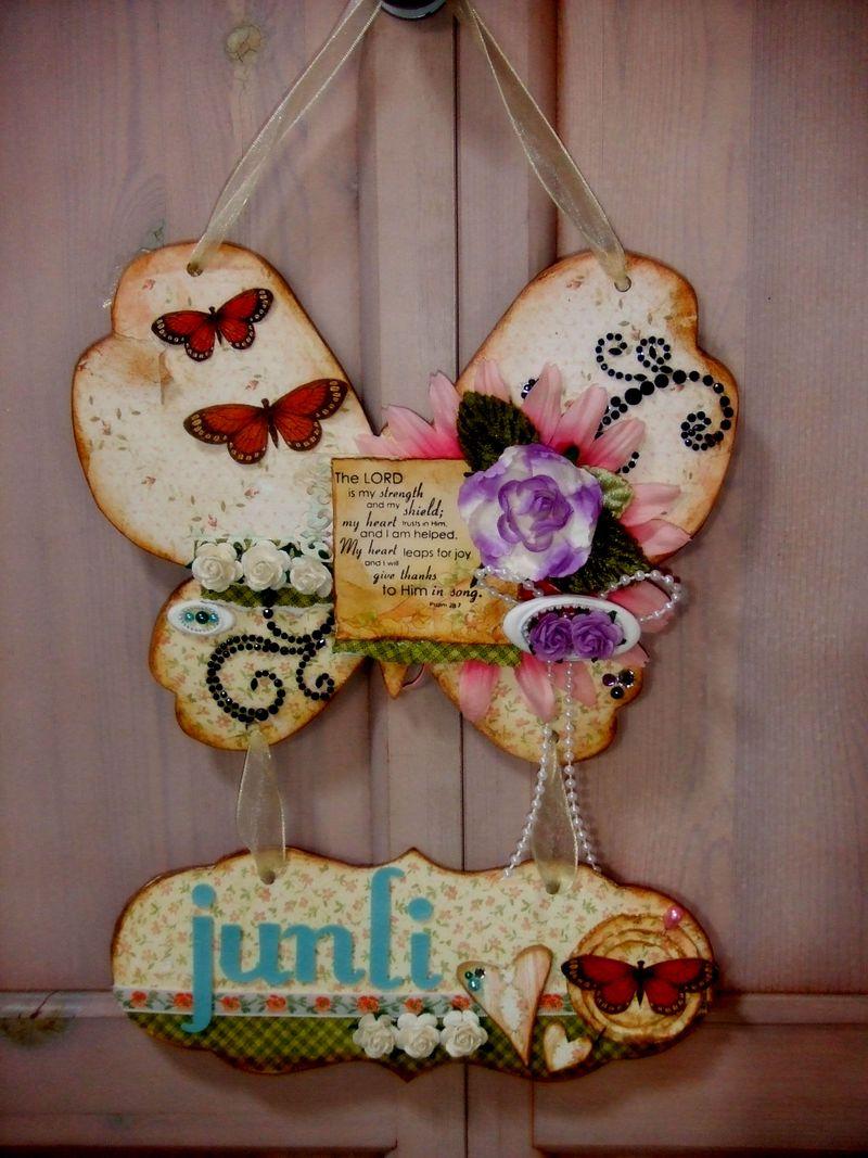 Junli's door hanger