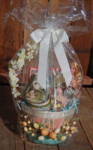 G45 - Easter Basket wrapped