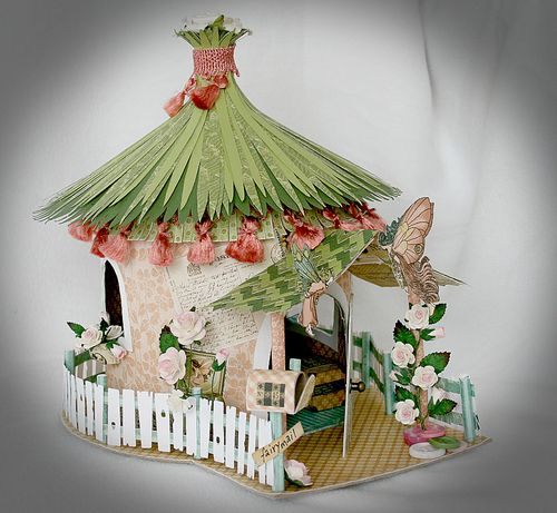A House Of Enchantment Fairy House By Jenny Svensson