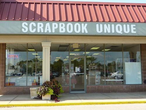 Scrapbook Unique Store Front