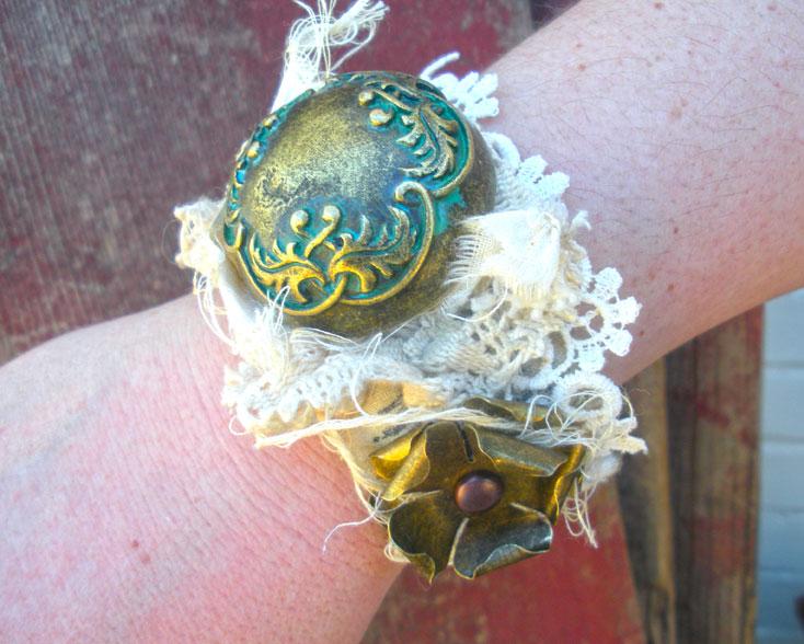 Zipper-button bracelet 3