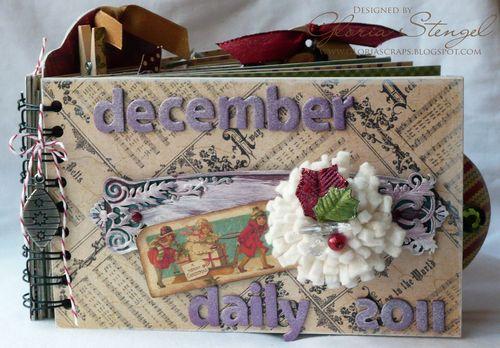 1 Graphic 45 Christmas Emporium Album Journal Gloria Stengel
