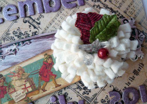 2 Graphic 45 Christmas Emporium Album Cover Journal Gloria Stengel
