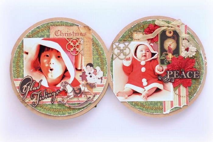 Graphic 45-Christmas Emporium-minibook-YukaHino-5