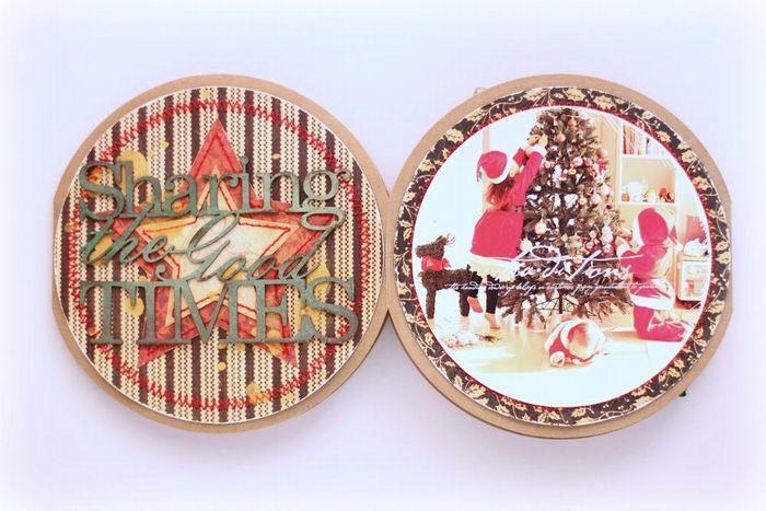 Graphic 45-Christmas Emporium-minibook-YukaHino-7