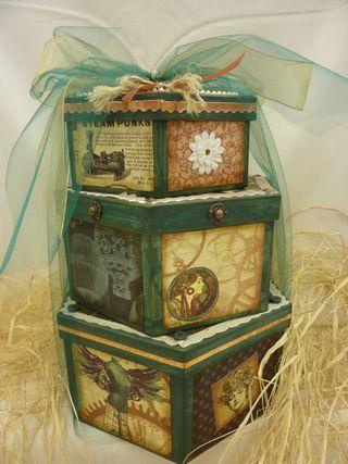 Steampunk Debutant Boxes
