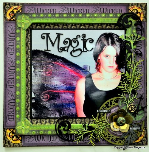 Jane tregenza Magic layout