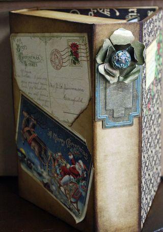 Christmas Emporium Altered Art Box Christmas 5