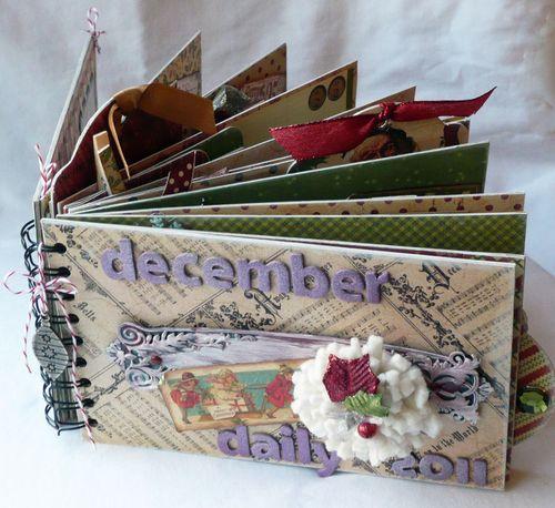 3 Graphic 45 Christmas Emporium Journal Album Gloria Stengel
