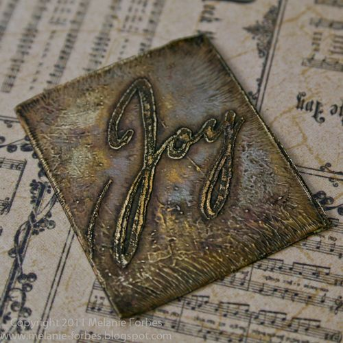 Melanie Forbes Christmas Emporium Metal cards 10
