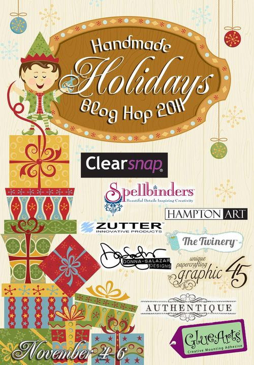 Handmade Holidays Blog Hop 2011 Logo Date Added