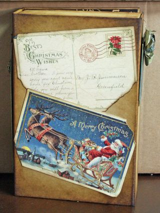 Christmas Emporium Altered Art Box Christmas 5