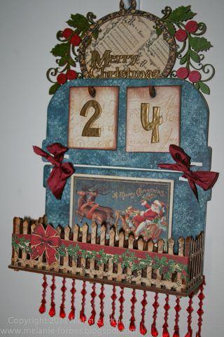 Graphic 45 Christmas Emporium Christmas Countdown 1 Melanie Forbes
