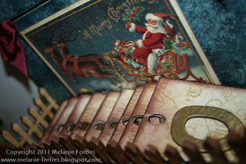 Graphic 45 Christmas Emporium Christmas Countdown 2 Melanie Forbes