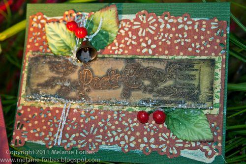 Melanie Forbes Christmas Emporium Metal cards 3