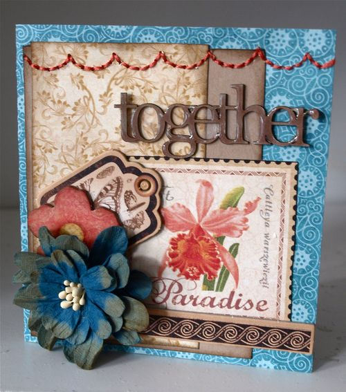 Tropical Travelogue card