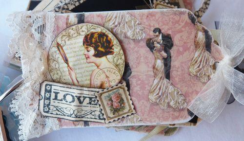 Le Romantique Mini Album Gloria Stengel