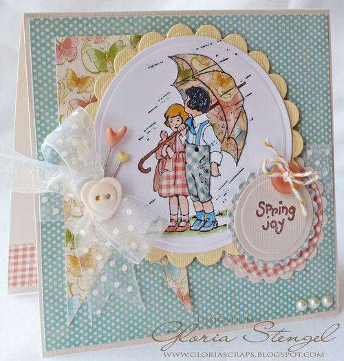 Little Darlings Card