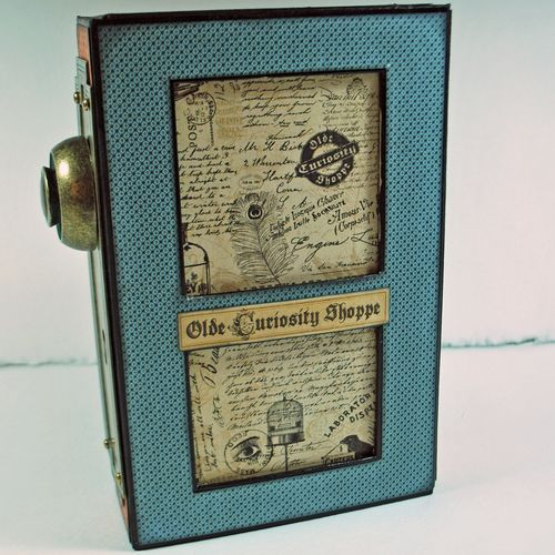 Olde Curiosity Shoppe Altered Art Box