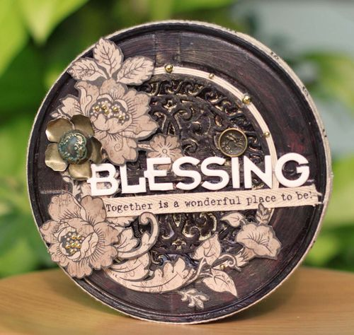 Sharon-blessing canister