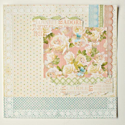 Maiko Miwa Graphic45 Little Darlings layout3