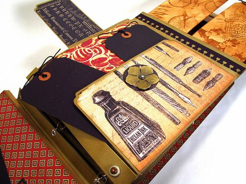 Graphic 45 ScrapbookSteals Communique Jim GentlemanCrafter