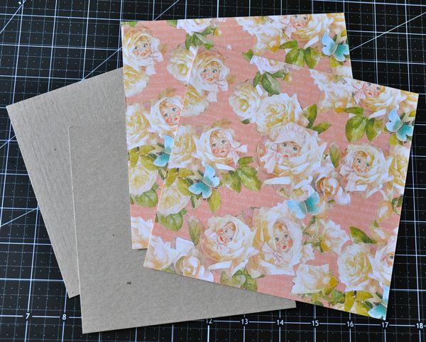 Susan Lui Graphic 45 Little Darlings Mini Album Step 4