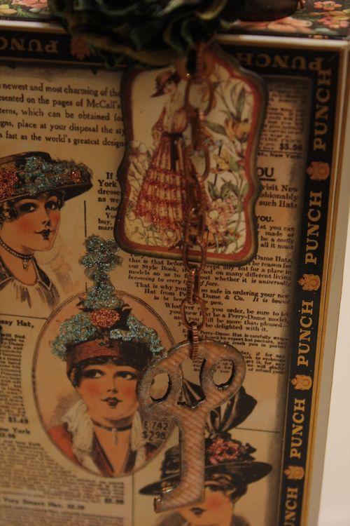 Denise Hahn Graphic 45 Ladies Diary Cigar Box Keepsake Box - 03