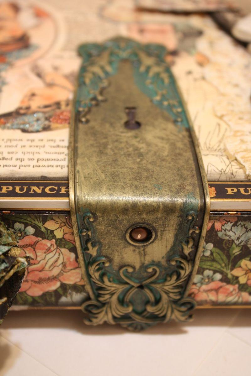 Denise Hahn Graphic 45 Ladies Diary Cigar Box Keepsake Box - 06