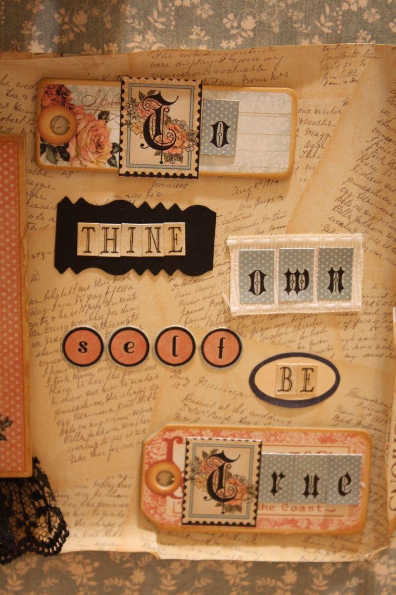 Denise Hahn Graphic 45 Ladies Diary Cigar Box Keepsake Box - 09