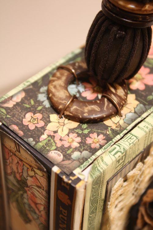Denise Hahn Graphic 45 Ladies Diary Cigar Box Keepsake Box - 11