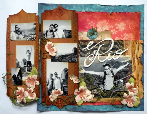 Tropical Travelogue Layout Betto Cesare