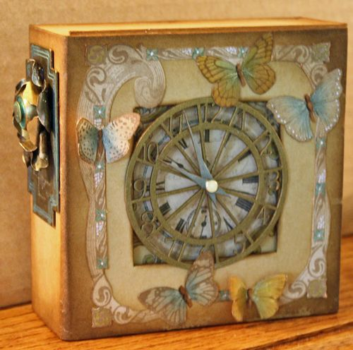Kraft Reflections Altered Art Box