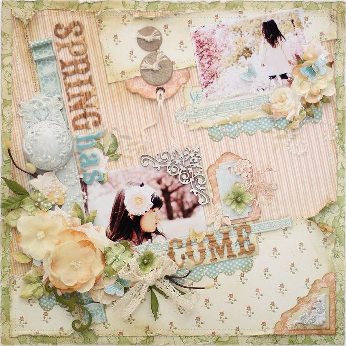 Graphic 45-Little Darlings-Layout-YukaHino-1