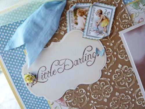 Little Darlings Layout