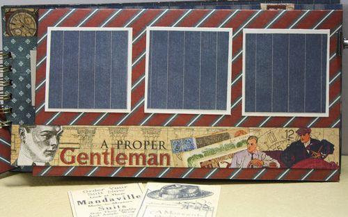 A Proper Gentleman Mini Album Graphic 45