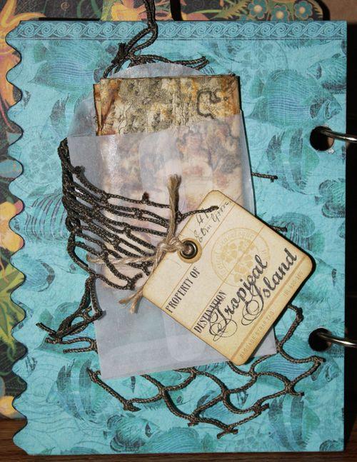 Tropical Travelogue Mini Album