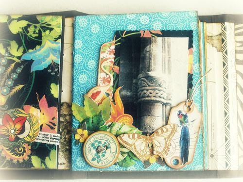 Alberto Juarez Graphic45 Tropical Travelogue mini album 9