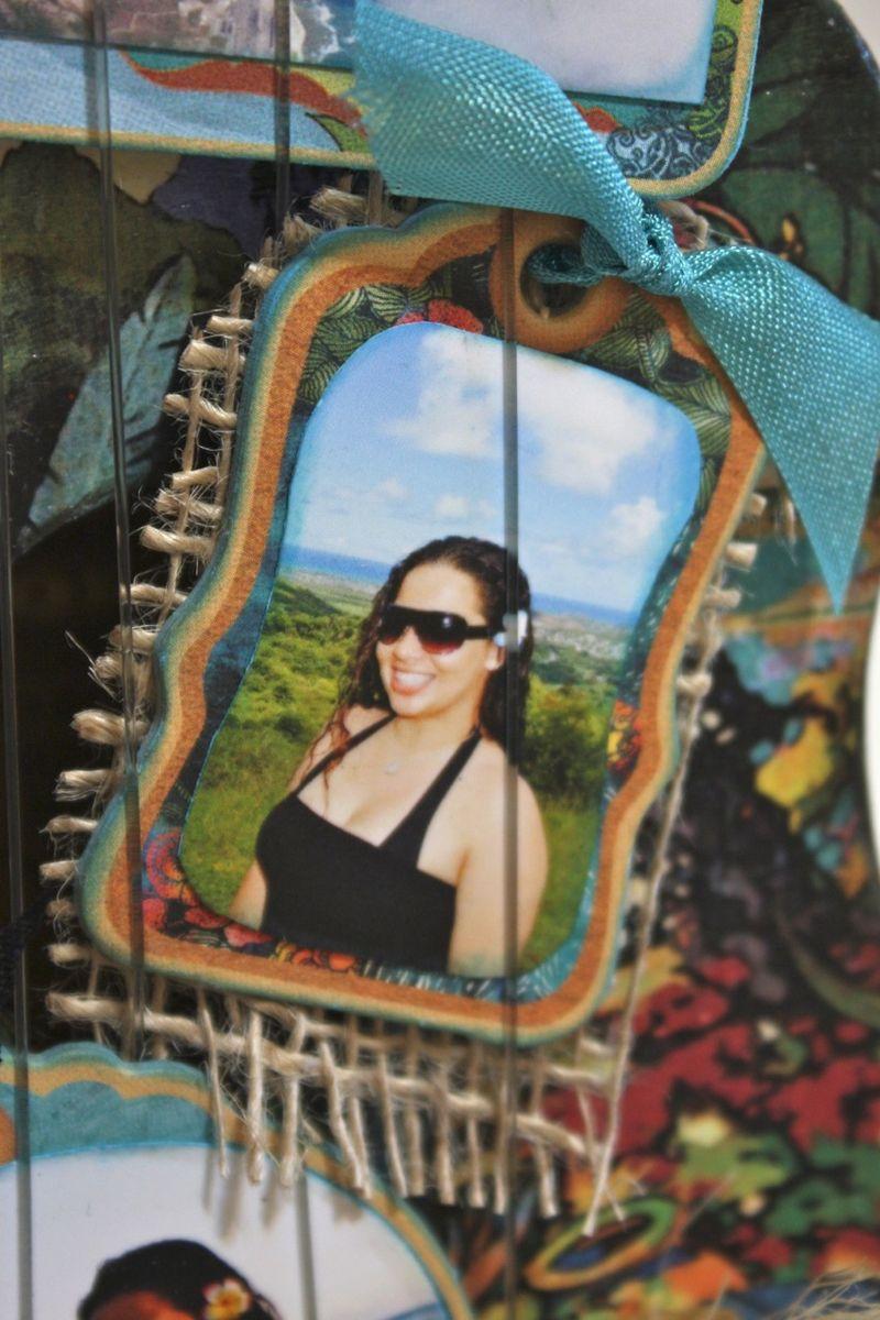Denise Hahn Tropical Travelogue Altered Ukulele4