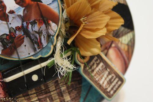 Denise Hahn Tropical Travelogue Altered Ukulele2
