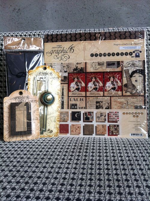 Graphic45 ScrapbookSteals Prize Blog Hop
