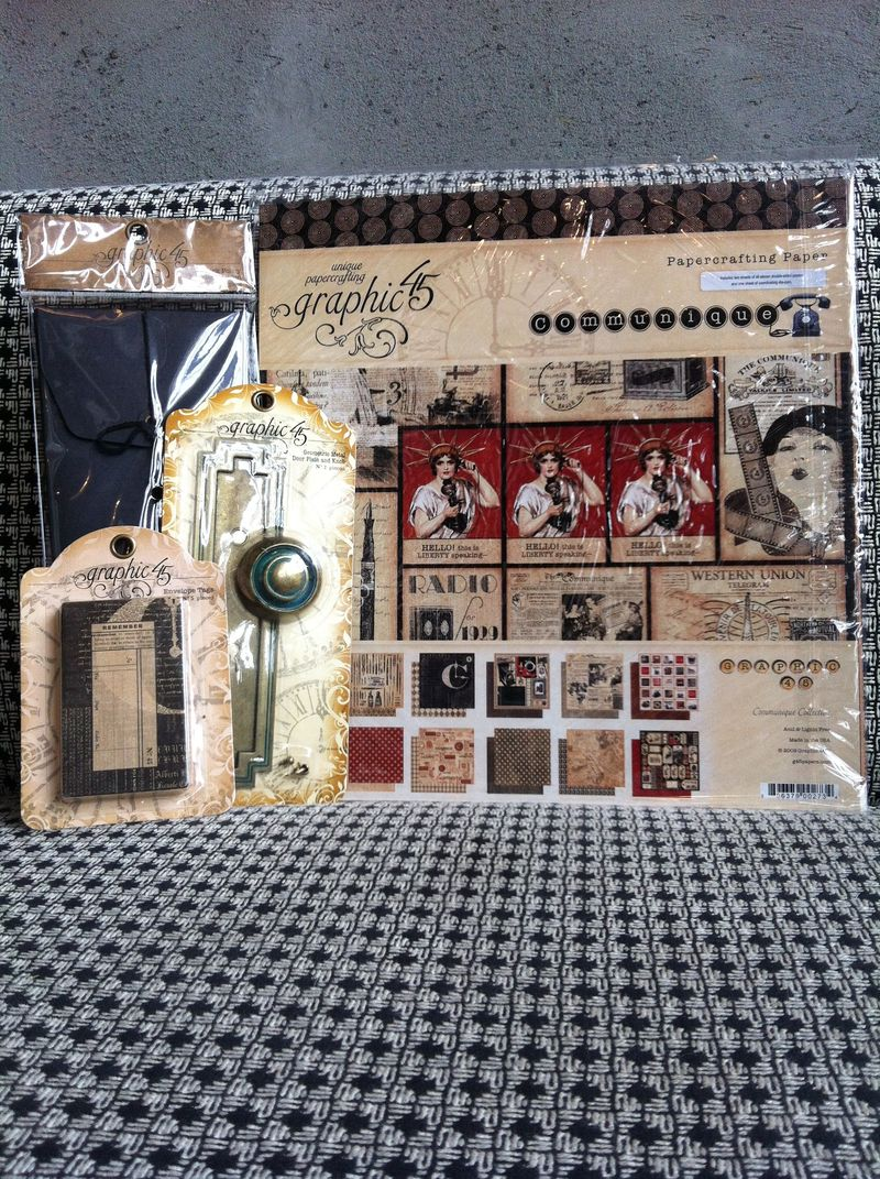Graphic45 ScrapbookSteals Prize Blog Hop