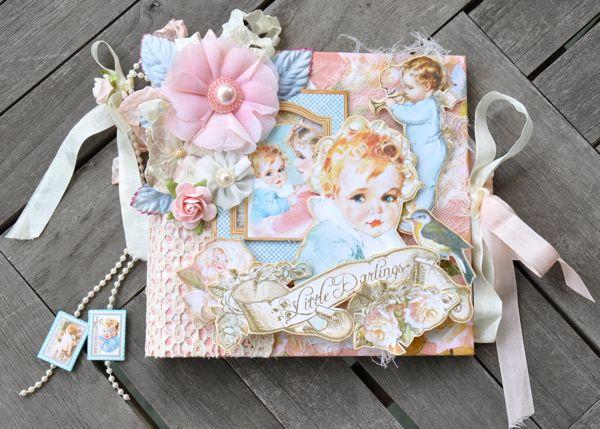 Susan Lui Graphic 45 Little Darlings Mini Album 4