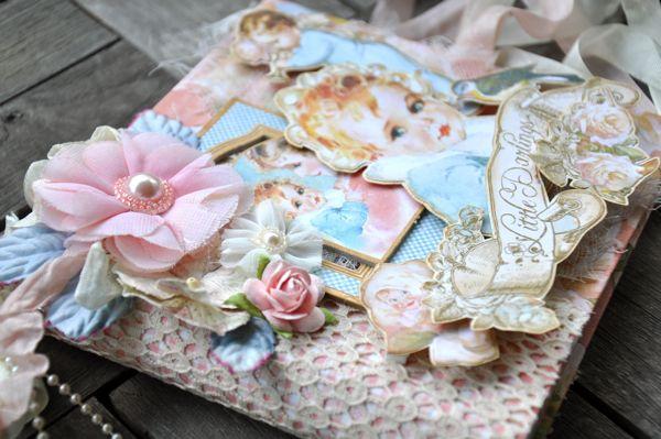 Susan Lui Graphic 45 Little Darlings Mini Album 5