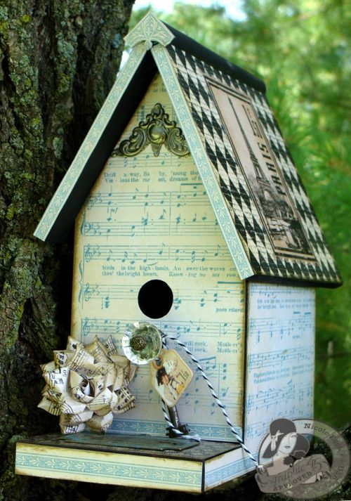 3  Nicole Eccles G45 Little Darlings Birdhouse