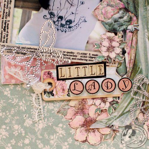 Graphic45 Sharon Ngoo Layout Ladies Diary (detail 1)