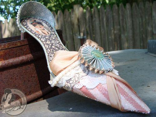 4 Nicole Eccles- July CHA- G45 Ladies Diary- High  Heel Shoe