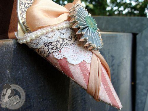 6 Nicole Eccles- July CHA- G45 Ladies Diary- High  Heel Shoe