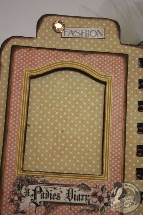 Denise Hahn CHA A Ladies Diary Mini Album Graphic 45 - 09-imp