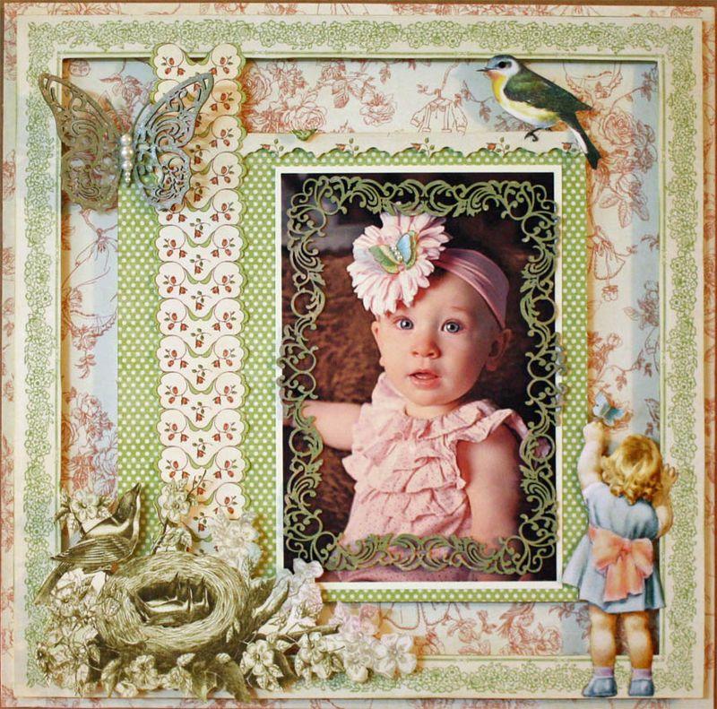 Little Darlings 12x12 LO - Olivia